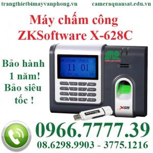 Máy chấm công ZKSoftware X-628C