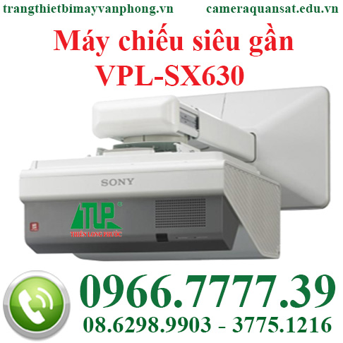 Máy chiếu siêu gần VPL-SX630