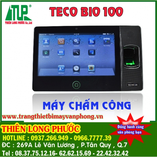 Máy chấm công TECO BIO 100