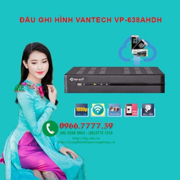 DAU GHI HINH VANTECH VP-638AHDH