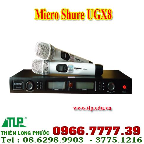 micro-shure-ugx8