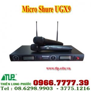 micro-shure-ugx9